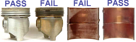Pass/Fail Piston Results