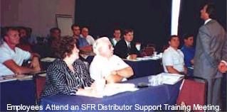 Employees Attend an SFR Distributor Support Training Meeting
